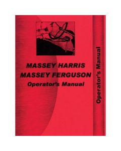 116427 | Operator's Manual - TO35 | Massey Ferguson TO35 |