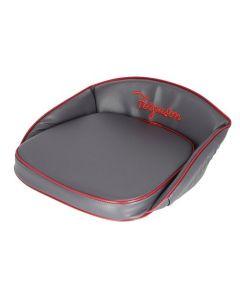 126876 | Pan Seat Cushion | Deluxe Ferguson Script | Vinyl | Gray | Massey Ferguson TE20 TEA20 TO20 TO30 TO35 |