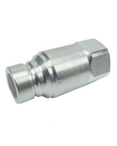 120880 | Parker FEM-502-8FP Hydraulic Quick Coupler Nipple | Male Flat Face | 1/2