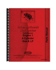 116445 | Parts Manual - 4 Cylinder Engine | International | Farmall | IH 140 275 444 454 464 500 544 574 2400B 2405B 2410B 2444 2500A 2500B 2505B 2510B 2544 3400A 3514 4500A 4500B 8000 |