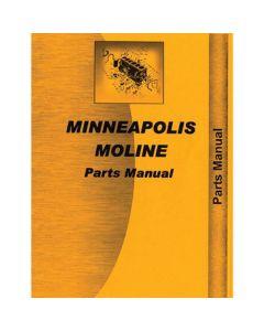 116691   Parts Manual - 445   Minneapolis Moline 445  