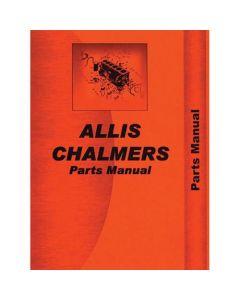 116600 | Parts Manual - 60 | Allis Chalmers 60 |