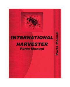 116493 | Parts Manual - D179 Engine | 3 Cylinder | International | Farmall | IH 240A 464 2400 2400B 2400B 2405B 2410B 3400A 4500A 4500B |