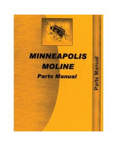 116695 | Parts Manual - M602 | M604 | Minneapolis Moline M602 M604 |