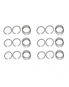 128952 | Piston Ring Set - Standard - 6 Cylinder | Case 700 900 960 | Massey Ferguson 205 300 |