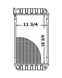 119605 | Radiator | New Holland L225 LS125 |  | 847465