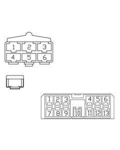 157346 | Radio Wiring Harness - Case IH | Case IH 2144 2166 2188 2344 2366 2377 2388 |