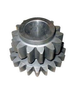 165953 | Reverse Idler Gear | Massey Ferguson 253 360 362 375 390 390T 393 396 398 399 670 690 698 699 |  | 1688127M1