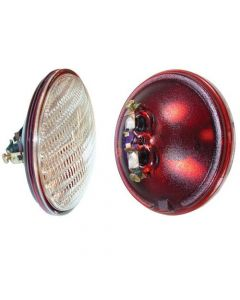 116014 | Sealed Beam Light Bulb - 12V | Trapezoid Beam | Combination Rear Lamp w/ Transparent Red Background | Allis Chalmers D10 D12 D14 D15 D17 D19 D21 170 |  | 70235583 | A40855 | 250301 | 371461R92 | 10P2646 | 70250301 | 4409 | 235583 | 377102R92