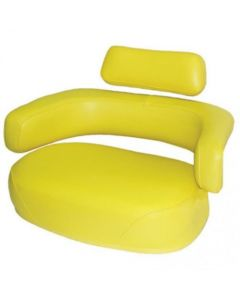 155977 | Seat | 3- Piece Cushion Replacement Set | Without Hardware | Restoration Quality | Vinyl | Yellow | John Deere 45 55 |  | AR26933 | AR26934 | AR26935 | AR44763 | AR59680 | AT14009 | AT14010 | AT14011 | R34266 | R34267 | R34268 | TY9626