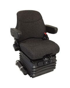 120717 | Seat Assembly - Air Suspension | Fabric | Brown | Case IH Magnum 180 Magnum 190 Magnum 210 Magnum 215 Magnum 225 Magnum 235 Magnum 245 Magnum 260 Magnum 275 Magnum 290 Magnum 305 Magnum 315 Magnum 335 Magnum 340 Maxxum 120 MX100C MX120 MX135 |