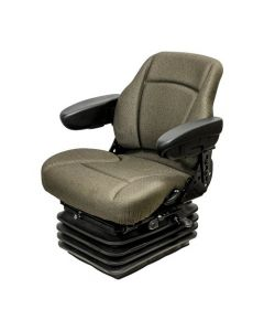 166693   Seat Assembly - Air Suspension   Fabric   Brown   Case W11 W11B W14B W14C W14FL W18 W18B W20 W20B W20C W24C 621 621B 721 721B 821 821B 921   Case IH FLX3010 FLX3510 FLX4010 FLX4510 Magnum 180 Magnum 190 Magnum 210 Magnum 215 Magnum      SS8170