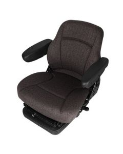 121399 | Seat Assembly - Air Suspension | Fabric | Gray | Case W11 W11B W14B W14C W14FL W18 W18B W20 W20B W20C W24C 621 621B 721 721B 821 821B 921 | Case IH FLX3010 FLX3510 FLX4010 FLX4510 Magnum 180 Magnum 190 Magnum 210 Magnum 215 Magnum 225 Magnum |