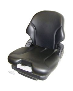 122493 | Seat Assembly - Air Suspension | Vinyl | Black | Bobcat A300 S70 S100 S130 S150 S160 S175 S185 S205 S220 S250 S300 S330 T110 T140 T180 T190 T250 T300 T320 463 | Case SR130 SR150 SR175 SR200 SR220 SR250 SV185 SV250 SV300 TR270 TR320 TV380 40XT |