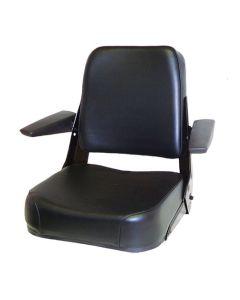 122508 | Seat Assembly | Comfort Classic | Vinyl | Black | Allis Chalmers 185 200 6060 6070 6080 7000 7010 7020 7040 7060 8010 8030 8050 8070 | Bobcat 600 700 | Case 480C 480D 480E 480ELL 480F 480FLL 480LL 580C 580D 580SD 584 585 586 680CK 680E 680H |