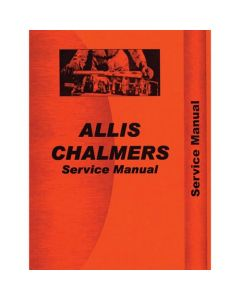 115953 | Service Manual - 160 | 6040 | Allis Chalmers 160 6040 |