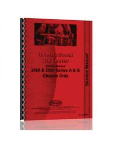 Service Manual - 2400A, 2400B, 2500A, 2500B, 4500A, 4500B, New, International