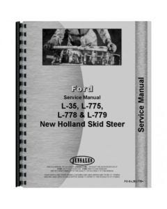 122596 | Service Manual - L35 | L775 | L778 | L779 | New Holland L35 L775 L778 L779 |