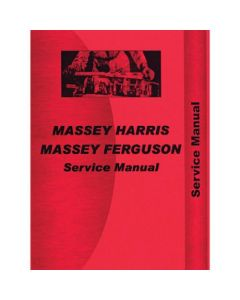 116624 | Service Manual - TEA20 | TED20 | TEF20 | TEH20 | Massey Ferguson TEA20 |
