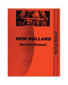 116799 | Service Manual - TR70 | TR75 | TR85 | TR95 | New Holland TR70 TR75 TR85 TR95 |