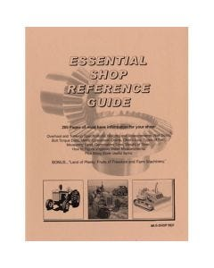 116536   Shop Reference Guide  