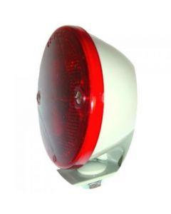 126633 | Tail Light Assembly - 6V | Round | Restoration Quality Duolamp with Bracket | Ford | NCA13402A | Ford 600 700 800 900 | Massey Ferguson Super 90 TO35 30 40 50 60 65 85 88 135 202 204 1135 |  | NCA13402A | 1751821M91