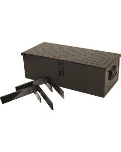121455   Tractor Tool Box with Brackets - 23