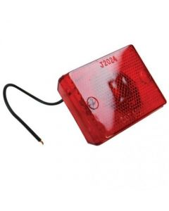 157103 | Trailer Clearance Light | LED | Red | Stud Mount | 3-1/8