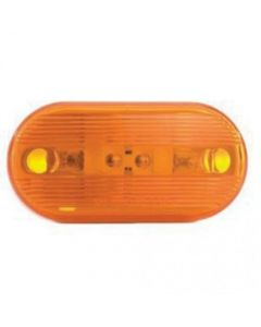157149 | Trailer Dual Bulb Marker and Clearance Light | Amber | 4-1/8