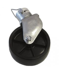 156971 | Trailer Jack A-Frame Wheel Assembly w/Pin | Poly |