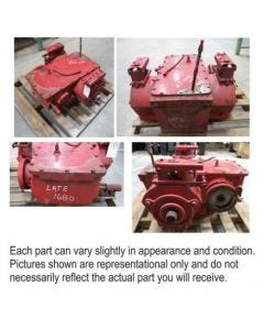 498918 | Transmission Assembly | Case IH 1644 1680 1688 |