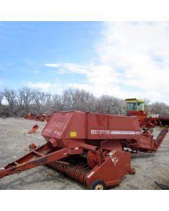 Used Hesston 4600 Baler parts.