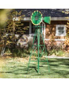 155717 | Windmill | Decorative | Green/Yellow | 8' |