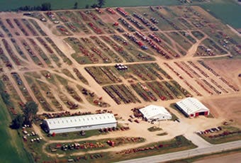 Wisconsin Tractor Parts and Salvage Yard in Black Creek, Wisconsin