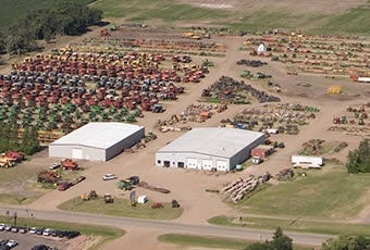 Salem Tractor Parts and Salvage Yard, South Dakota